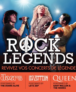 Rock Legends - The Doors Alive - Letz Zep - One Night Of Queen