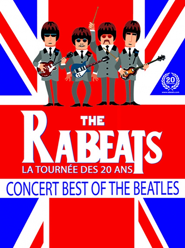 The Rabeats - Tribute to the Beatles-La tournée des 20 ans