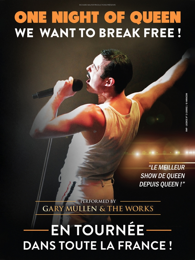 One Night of Queen-We want to break free !