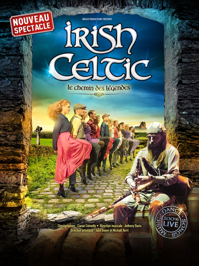Irish Celtic-Le chemin des légendes
