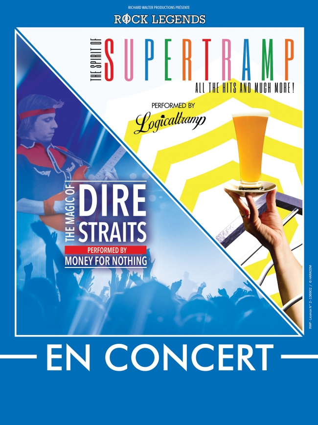 Rock Legends : Supertramp & Dire Straits-Performed by Logicaltramp & Money for Nothing