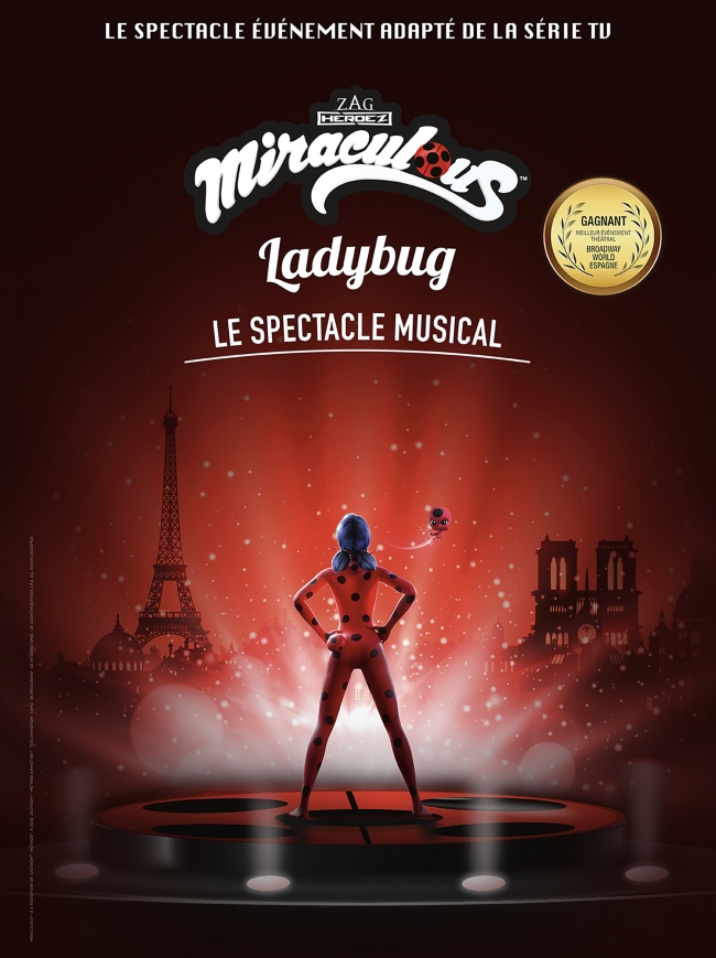 Miraculous-Ladybug - Le spectacle musical